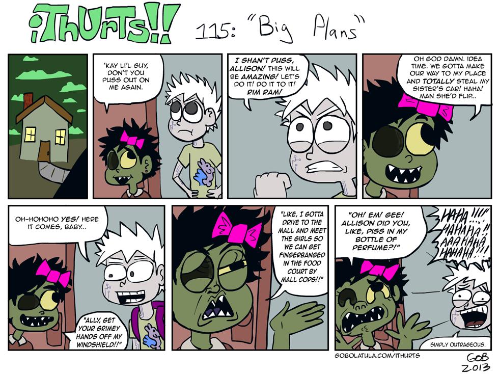 115: Big Plans