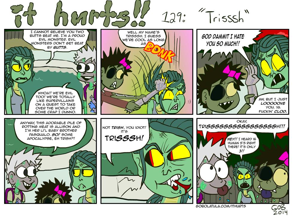 129: Trisssh