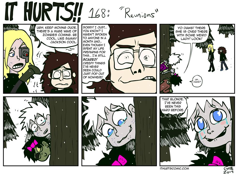 168: Reunions