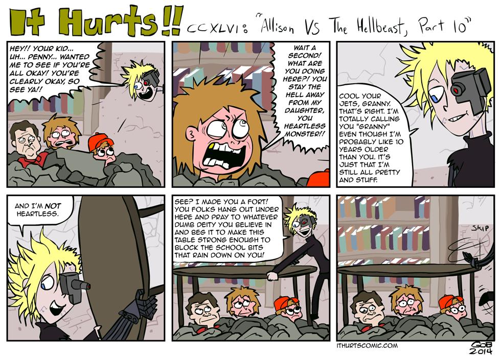 246: Allison VS The Hellbeast, Part 10
