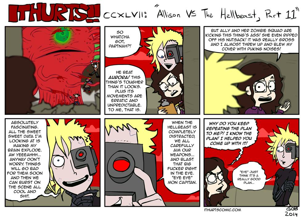247: Allison VS The Hellbeast, Part 11
