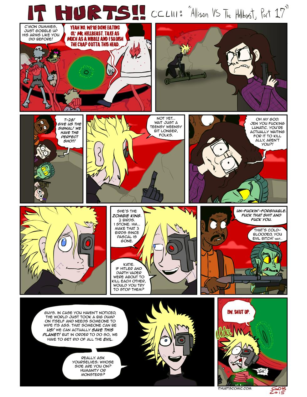 253: Allison VS The Hellbeast, Part 17