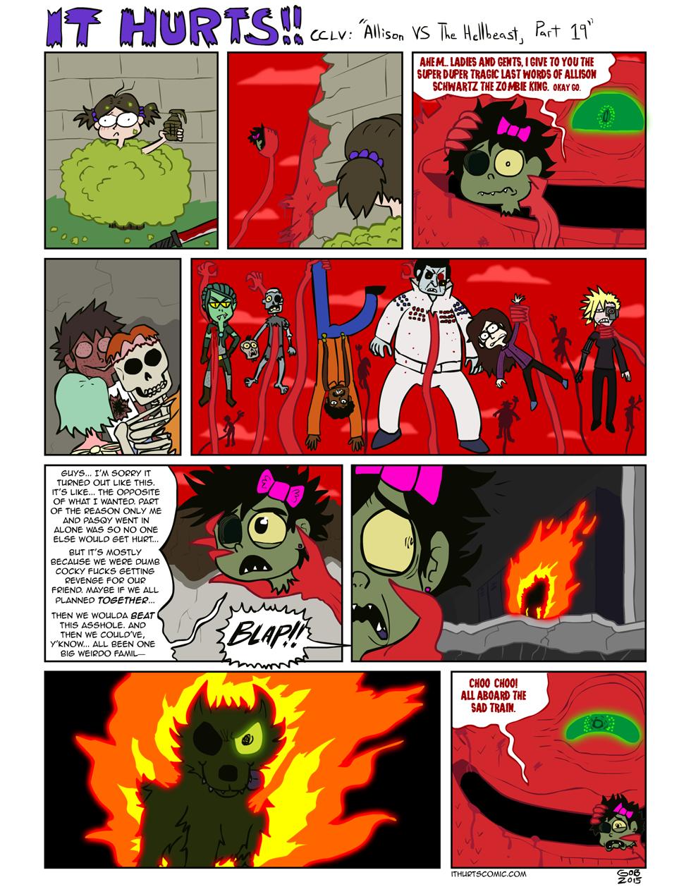 255: Allison VS The Hellbeast, Part 19