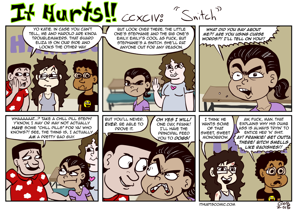 294: Snitch